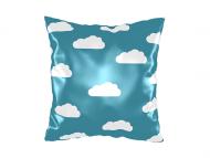 Polštářek, bavlna, Z hlavou v oblacích, 25x25 cm